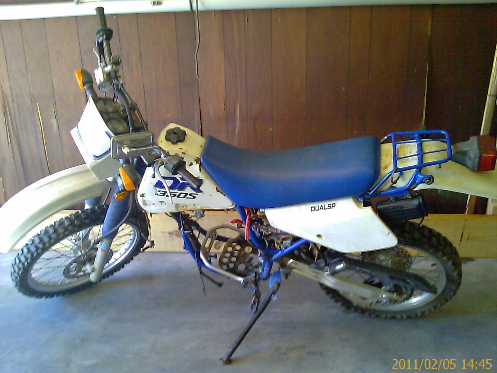 1991 2 Suzuki Dr350